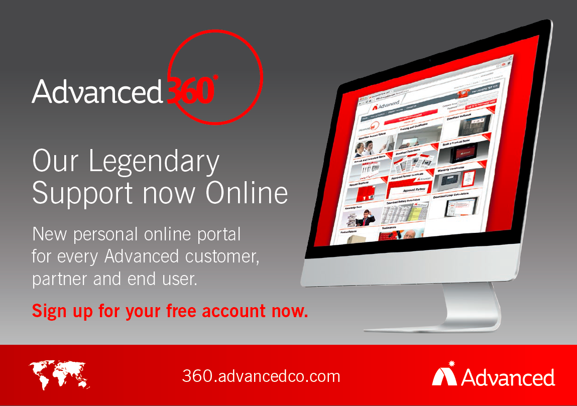 New Personalised Technical Support Portals from Advanced