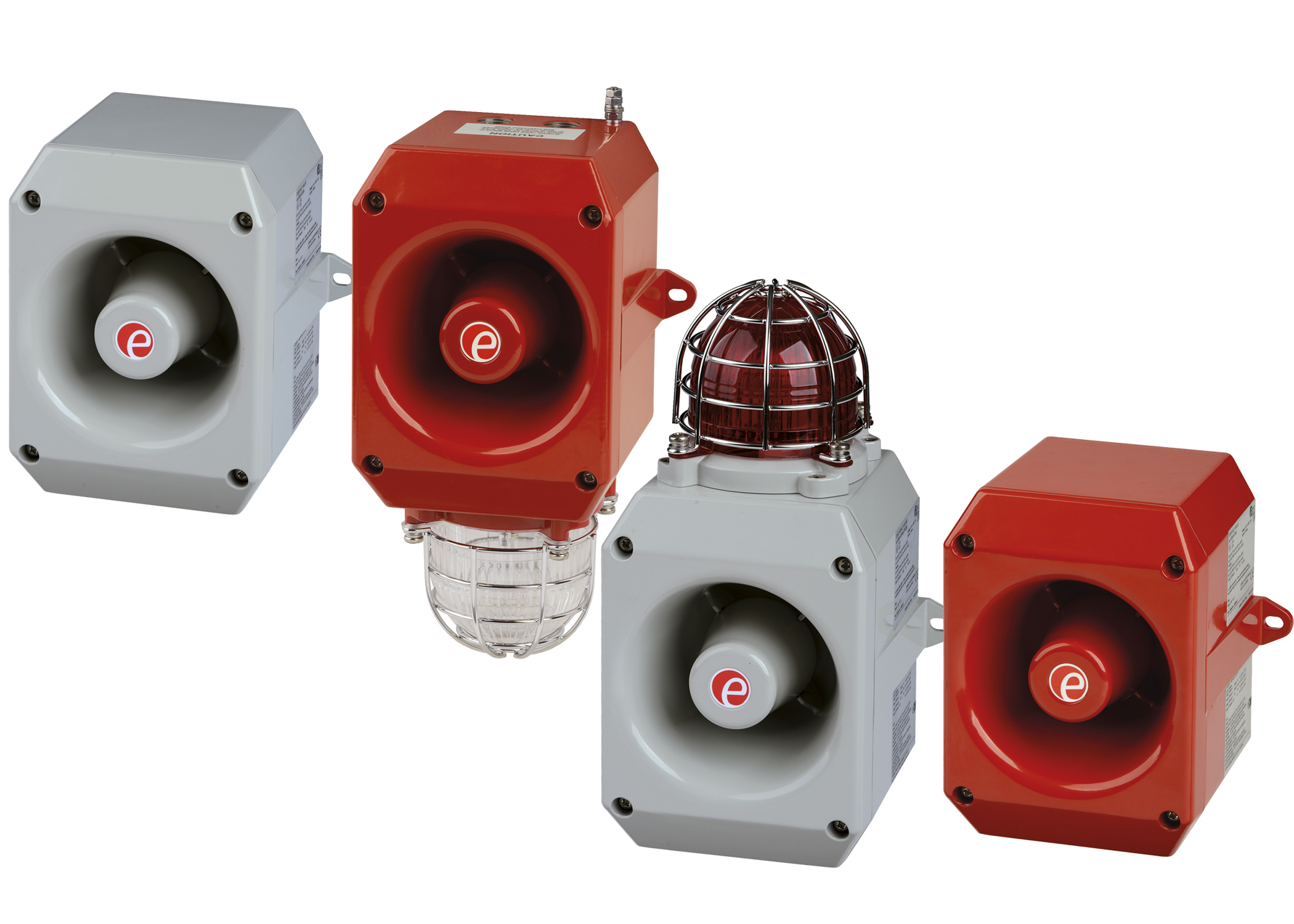 New compact high output D2x explosion proof horn sounders and horn/beacon units from E2S