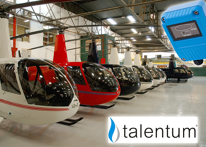 Helicopter Repair Facility Protected by Talentum Flame Detectors