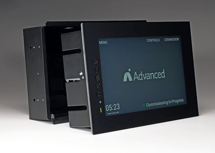 Making the touchscreen a panel in its own right makes ease of installation a critical issue. Image courtesy of Advanced.