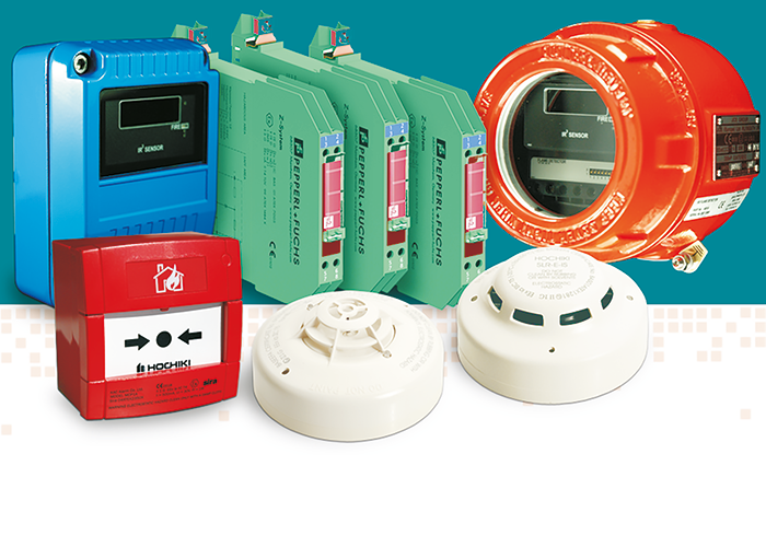 In addition to point detectors, Hochiki Europe's Intrinsically safe range includes flame detectors, explosion proof detectors and a number of new barriers.