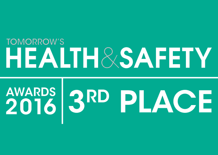 Advanced's False Alarm Management System Recognised in Tomorrow's Health and Safety Awards 2016