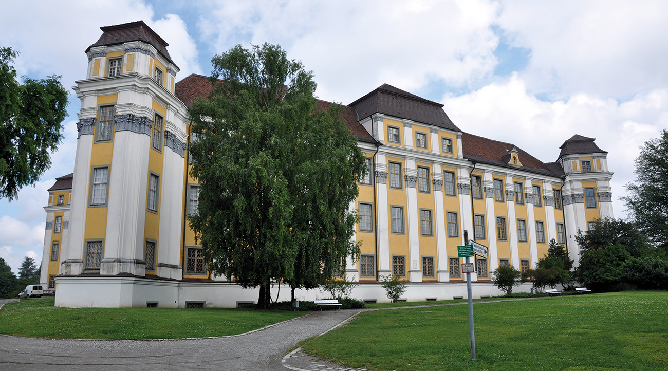 Tettnang Castle relies on a wireless fire alarm system.