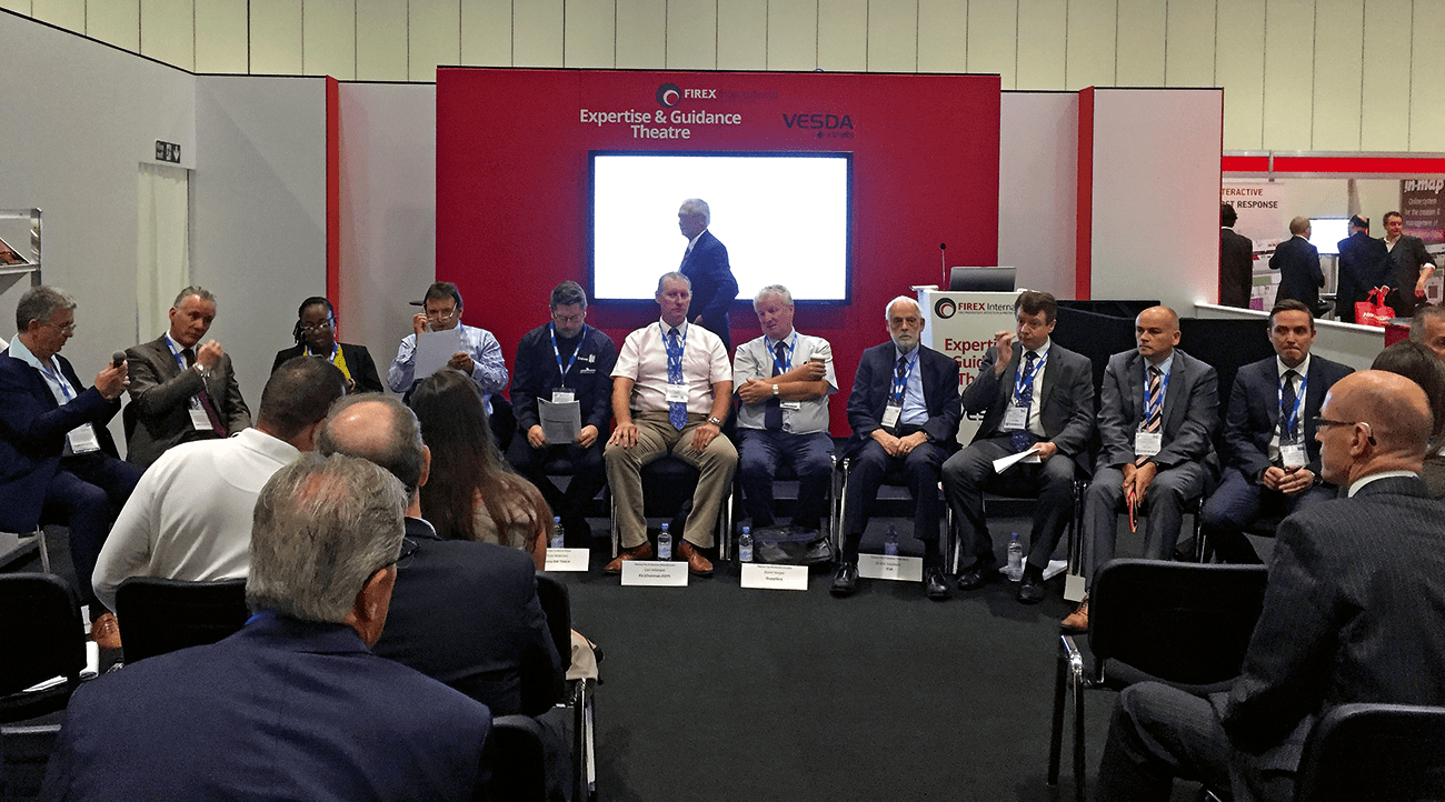 The expert panel faced questions from the audience.