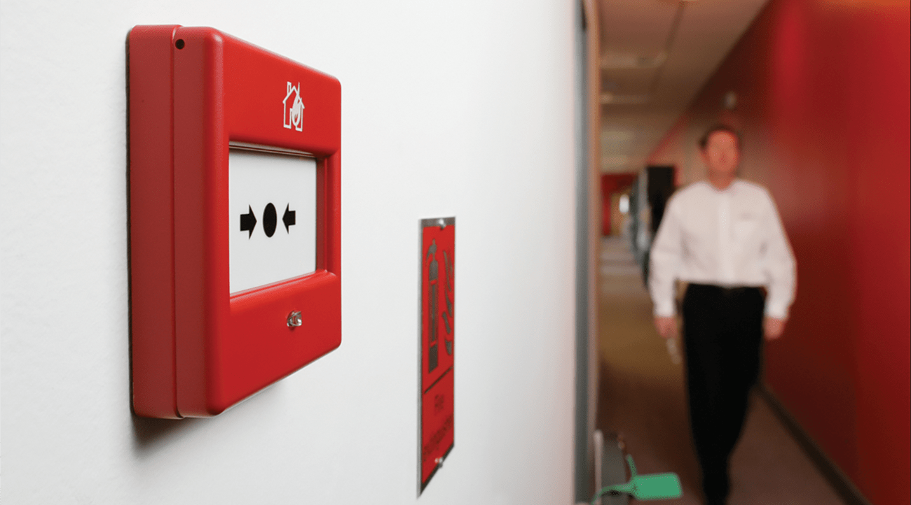 The installation of call points is essential in many large commercial buildings.