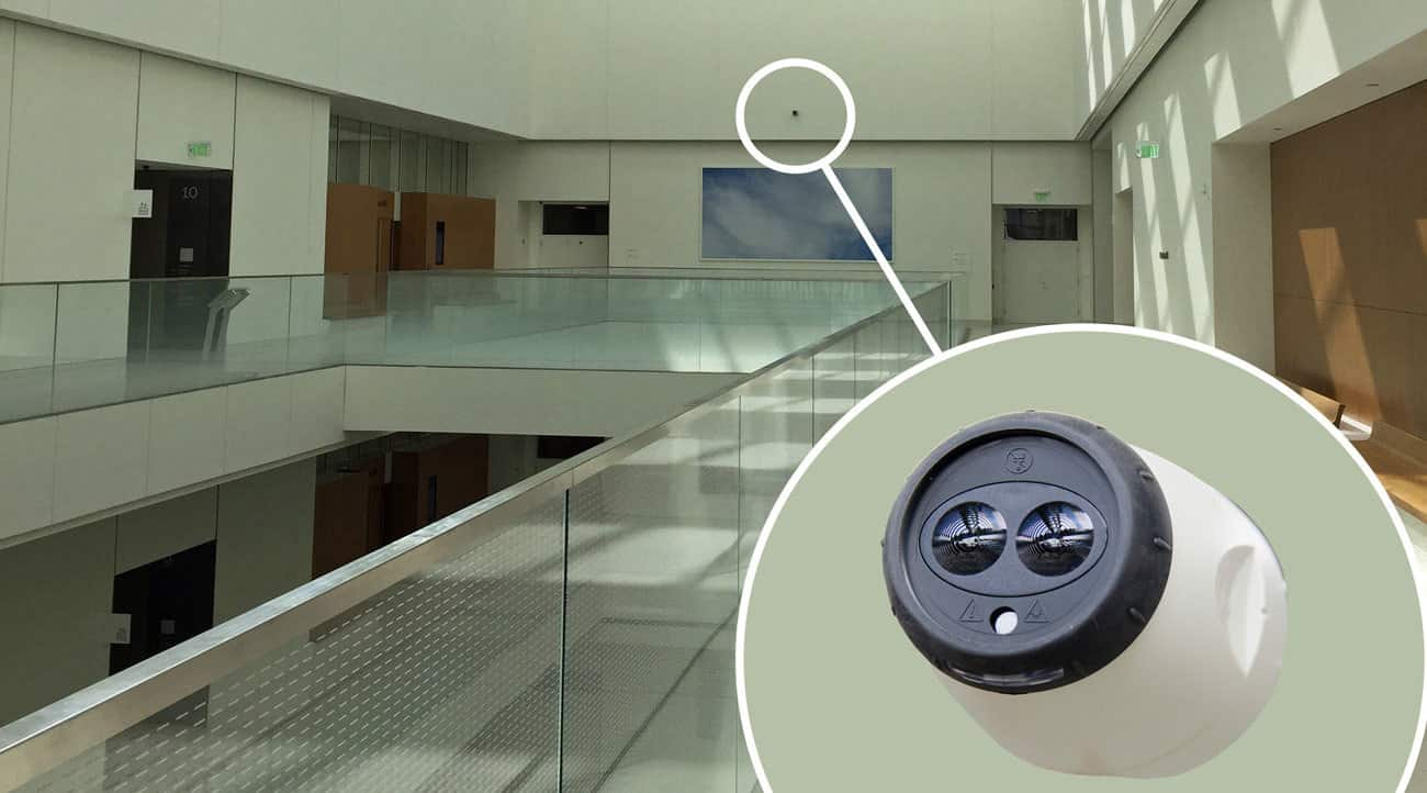 New Los Angeles Federal Courthouse kept safe with FFE's beam smoke detectors