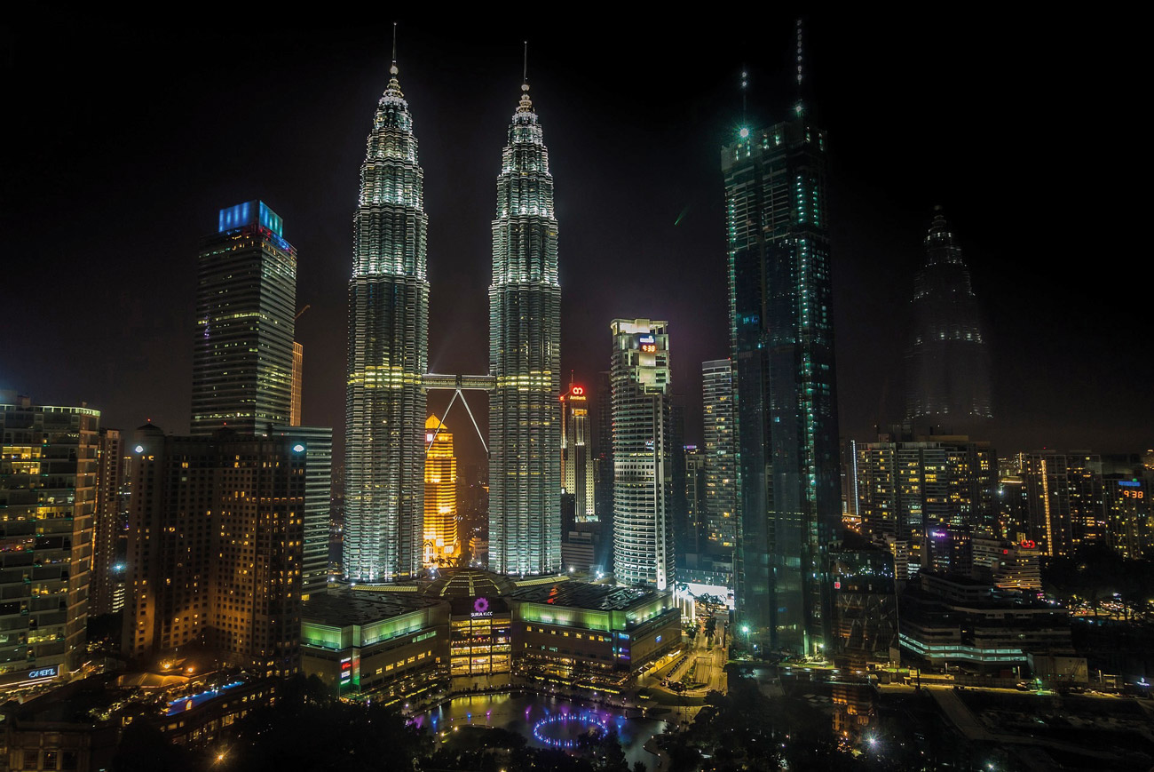 The Petronas Twin Towers incorporates a unique evacuation strategy utilizing the sky bridge connecting the two towers.