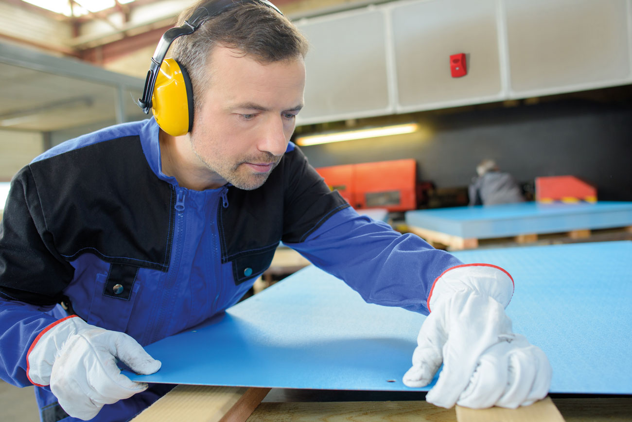 The installation of VADs in sites where occupants must wear hearing protection, like manufacturing facilities with high ambient noise, can help get occupant attention more quickly so evacuations begin sooner.