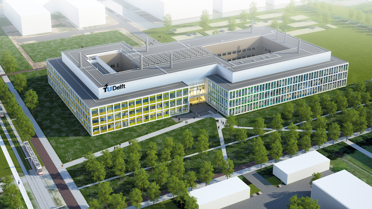 New TU Delft building for Applied Sciences.