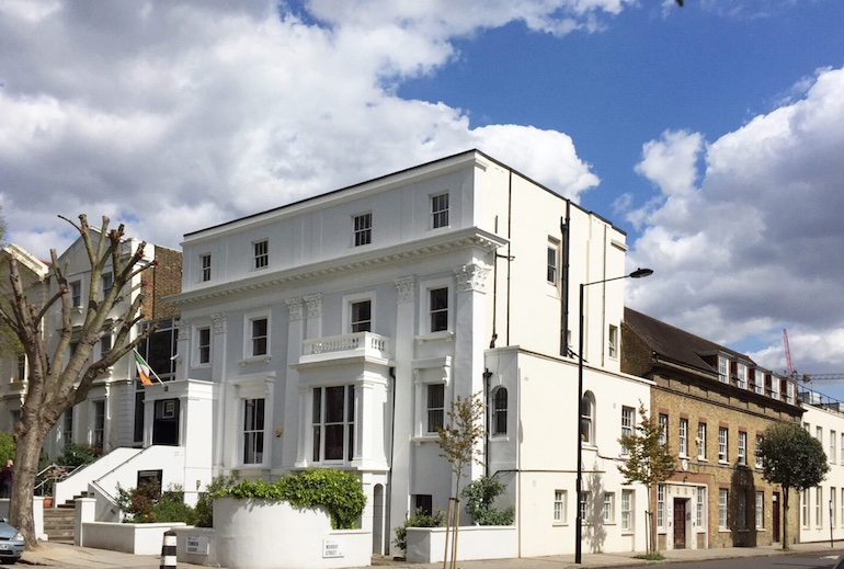London Irish Centre in Camden Square is now protected by Hyfire wireless fire devices. (Image copyright: Hyfire)