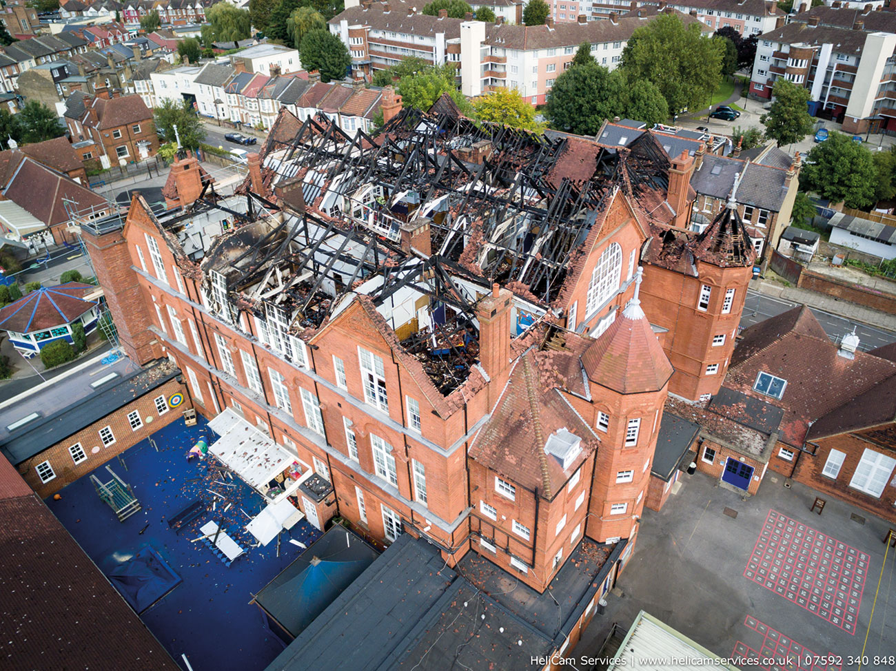 Larger fires in schools cost on average £2.8 million to repair and in some cases over £20 million.