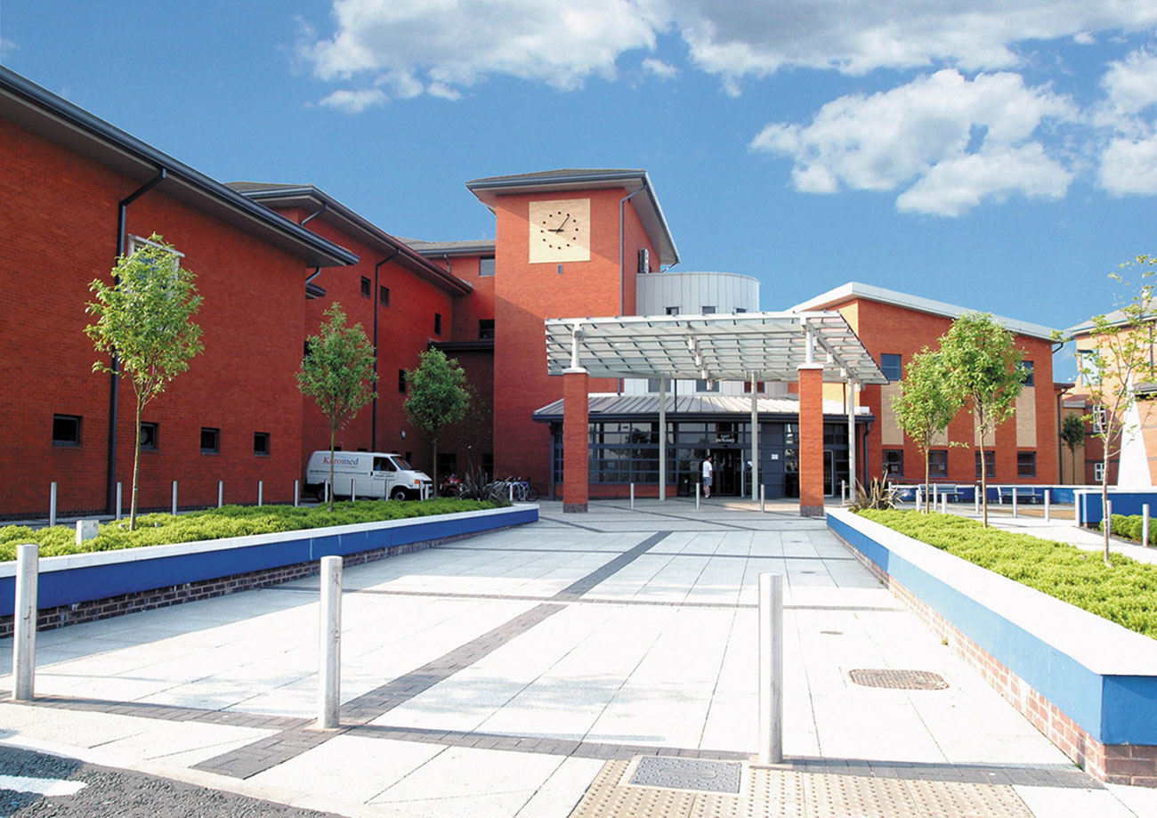 Wythenshawe Hospital is protected by a network of MxPro 5 fire panels and custom-built AdSpecials panels from Advanced.