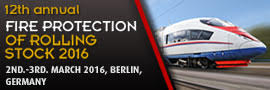 Fire Protection of Rolling Stock 2016